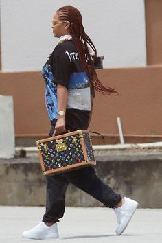 Rihanna in Barbados Rihanna Street Style, Looks Hip Hop, Cocktail Party Outfit, Rihanna Riri, Black Girl Aesthetic, Protective Styles, Fashion Outfits, Womens Fashion, Fashion Addict