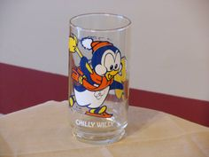 Chilly Willy and Smedley Walter Lantz Glass by RandysGallery