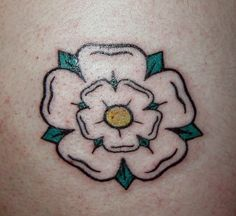 Yorkshire Rose Tattoo | Flickr - Photo Sharing!