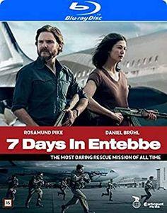 7 Days in Entebbe (2018) Rosamund Pike Gone Girl, Daniel Bruhl, Jennifer Love Hewitt, Jennifer Garner, Time Running Out, Catherine Zeta Jones, Blu Ray, Sofia Vergara, Air France
