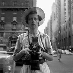 "Self-portrait by recently ""discovered"" photographer Vivian Maier."