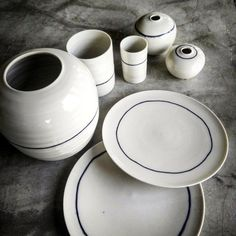 """793 Me gusta, 15 comentarios - Gaya Ceramic (@gaya.ceramic) en Instagram: """"Less is more? Sometime simplicity is the way to go and this set says it all. . Hand thrown…"""""""