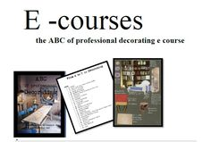 ABC E Course Interior Design Courses, Interior Styling, School, Decor, Interior Decorating, Decoration, Decorating, Deco