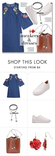 """""""Sporty Chic: Sneakers and Dresses"""" by paculi ❤ liked on Polyvore featuring SNEAKERSANDDRESSES"""