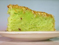 Easy, pistachio cake. I'm going through a pistachio phase.