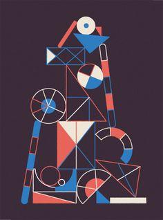 Damien Correll, illustrator