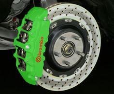 e-tech st green brake caliper paint kit $14.99