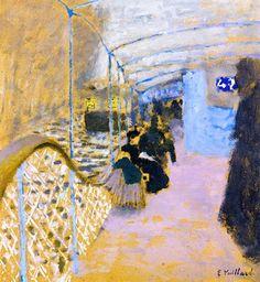 Edouard VUILLARD The Bateau-Mouche c 1900