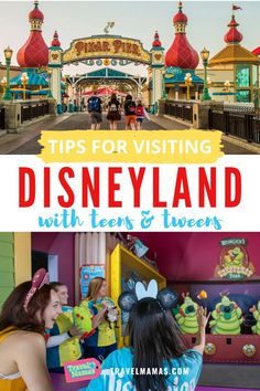 Want to visit Disneyland with teens or tweens, but not sure how to make the most of a Disney trip with big kids? These tips for a Disney vacation with a teenager or tween will make sure the whole family has fun! Disneyland Tips, Disneyland California, Disney California Adventure, Disneyland Resort, California Travel, Southern California, Family Vacation Destinations, Disney Vacations, Disney Travel