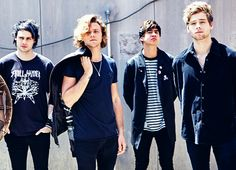 5SOS.... If music career fails(it won't) they at least have modeling as an option