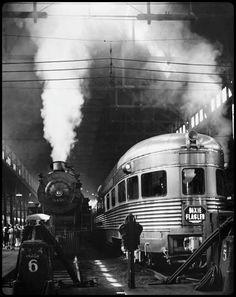 New York, 1940, a photo by Andreas Feininger  viamistymorrning