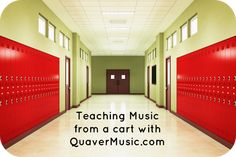 Teaching from a cart this year? Music Education