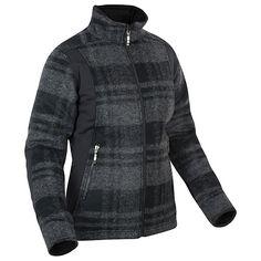 Mäkká, vodoodpudivá vlnená bunda v károvanom vzore s elastickými vsadzovanými prvkami z materiálu Polarlite Stretch. Zvlnený strih, teplá (100g zateplenie) s regulovateľným lemom, vysoký mäkký golier ako ochrana tyla, 2 zipsové vrecká a 2 vnútorné vrecká. Športová, príjemná na dotyk vďaka vlne, nenáročná na starostlivosť vďaka podielu polyesteru. Ideálna bunda na zimné výlety.