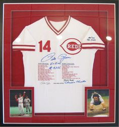 Pete Rose Chicago Red Stars memorabilia. | The Great Frame Up | Naples, FL | www.naples.thegreatframeup.com/ |