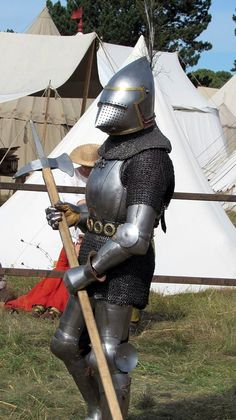 Medieval Life, Medieval Knight, Medieval Armor, Medieval Fantasy, Armadura Medieval, Knight In Shining Armor, Knight Armor, Larp, Late Middle Ages