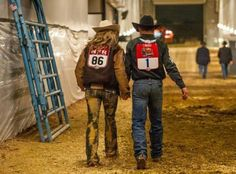 Shada and Trevor Brazille. True love <3 Rodeo's first couple