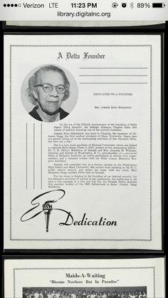 Soror and  Founder Jimmie Bugg Middleton,  Howard University, Alpha Chapter, Delta Sigma Theta Sorority, Inc
