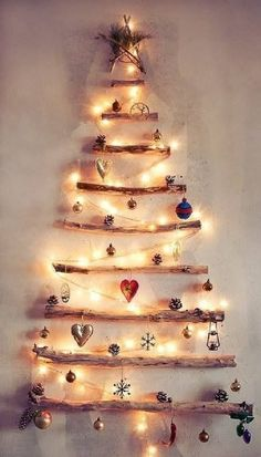 NapadyNavody.sk | Skvelý nápad, ako ušetriť živé stromčeky na Vianoce vďaka opadaným konárom