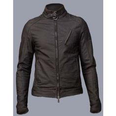 This is a famous Black Leather Jacket worn by Jeremy Ranner, while playing the character of Aron Cross in his 2012 block buster movie THE BOURNE LEGACY.