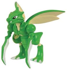 Pokemon XY Scyther 2-Inch Figure [Loose]