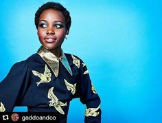 She is gorgeous!! #BlackBeauty #BlackIsBeautiful #EmbraceYourSkin #Melanin #BlackPride #CEAC  #Repost @gaddoandco (@get_repost) ・・・ BE COURAGEOUS!  Model: LUPITA NYONG'O  @lupitanyongo  #fashion #beauty #art #artistry #melanin #blackbeauty #blackisbeautiful #selflove #instalove #insta #celebrities #celebrity #shoppable #sheabutter #lupitanyongo #gaddoandco http://tipsrazzi.com/ipost/1516205228637512923/?code=BUKpJ9Lh2Tb