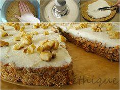 Ethique: RAW mrkvový dort Paleo Dessert, Pavlova, Carrot Cake, Raw Vegan, Camembert Cheese, Carrots, Sweet Tooth, Cheesecake, Pie