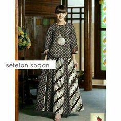 Rok & blouse batik