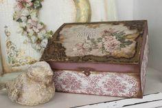 xeirokamoto.gr - Vintage κουτί με εφέ σκουριάς-Σεμινάρια
