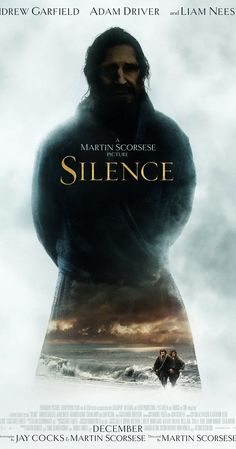 Silence is an upcoming American historical drama film directed by Martin Scorsese and written by Jay Cocks and Scorsese, based upon the 1966 novel of the same name by Shūsaku Endō. The film was shot entirely in Taipei, Taiwan and stars Andrew Garfield, Adam Driver, Liam Neeson, Tadanobu Asano, and Ciarán Hinds.[2]