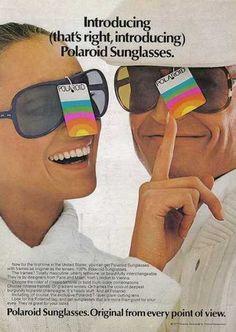 Polaroid Sunglasses advert from 1977