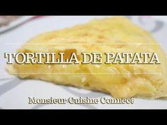 TORTILLA DE PATATA en Monsieur Cuisine Connect | Ingredientes entre dientes - YouTube Lidl, Recipes, Salads, Amor, Spanish Omelette, Types Of Potatoes, Spanish Kitchen, Pound Cake, Easy Recipes