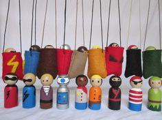 Take-Along Peg Dolls