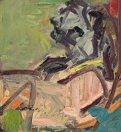 Frank Auerbach - J.Y.M. Seated II, (1996)