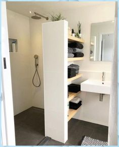 - Shower room - - # bathroom renovations - Badezimmer Re . - – Shower room – – # bathroom renovations – Badezimmer Re … Bathroom Renovations, Remodel Bathroom, Shower Remodel, Bathroom Interior Design, Interior Modern, Modern Interiors, Diy Interior, Bathroom Inspiration, Bathroom Ideas