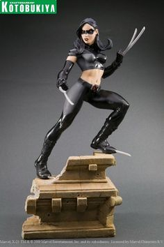 MARVEL COMICS PRESENTS KOTOBUKIYA COLLECTION - Outfit from a run of X-Force that also featured Wolverine, Wolfsbane, and Proudstar all in a wetworks role doing the dirty work for the X-Men.