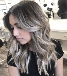 Are you going to balayage hair for the first time and know nothing about this technique? We've gathered everything you need to know about balayage, check! Ombre Hair Long Bob, Ombre Hair Color, Brown Hair Colors, Blonde Color, Ash Blonde Ombre Hair, Ash Hair, Brown To Grey Hair, Best Hair Color, Popular Hair Colors