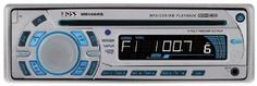Boss Audio MR1465S Marine MP3 Compatible CD Receiver by BOSS. $60.23. From the Manufacturer                Marine MP3 Compatible CD Receiver, AM/FM, Full Detachable Front Panel, Front Aux-In, Wireless Remote, 60w X 4 (Silver)                                    Product Description                Marine MP3 Compatible CD Receiver, AM/FM, Full Detachable Front Panel, Front Aux-In, Wireless Remote, 60w X 4 (Silver)