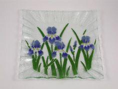 Iris Square Plate