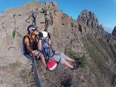 Paraglidin Tandem Tenerife Paragliding, Tandem, Tenerife, Golf Bags, Sports, Fingers, Hs Sports, Sport, Tandem Bikes