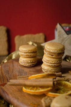 Rezept für Macarons mit Spekulatius