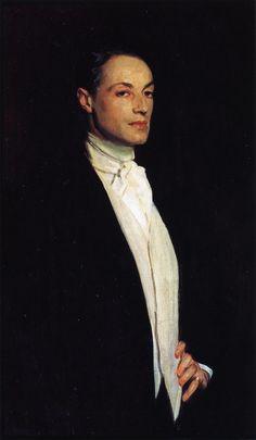John Singer Sargent (1856-1925) - Portrait of Sir Philip Sassoon