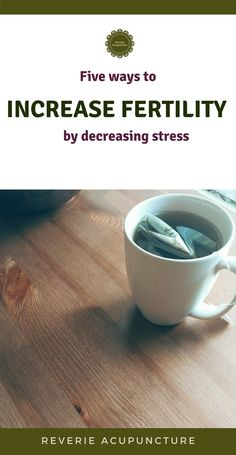"""In an expansion on my blog post """"Fundamentals of Acupuncture for Fertility"""" I'm diving deep into the relationship of stress and infertility. These five fertility tips are great ways to increase your chances of conception and implantation. Click to read now or pin to save for later. #infertility"""