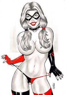 Harley Quinn by Elberty