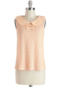 Such a cute top - and I might be biased by its name (I'm in Louvre Top)!  Once a francophile, always a francophile!   #ModCloth