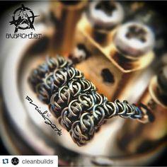 #coilbuilds #coilporn #coilart #mechmods #mechanicalmods #vape #vapeplyfe #vapelife #vapers #vapor #vaping #vapeporn #vapephotography #vapepics #rda #driplyfe #drippers #vapeon #vapefam #waketovape #bbv #brokeballervapes