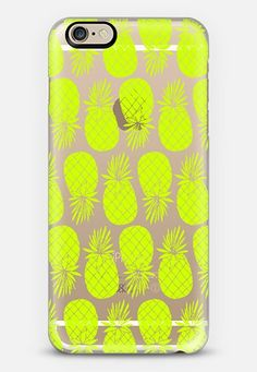 Neon Pineapple iPhone 6 case by Anchobee | Casetify