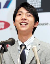 金メダル報告「本当に幸せ」 羽生選手、市役所で記者会見   河北新報オンラインニュース