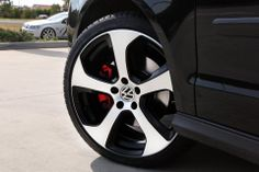 VW Polo GTI with Mk7 Golf GTI Alloy Wheels