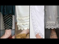 New Trousers Designs and Styles for Casual/PartyWear Dresses of 2019 Stylish Dress Designs, Stylish Dresses For Girls, Designs For Dresses, Dress Neck Designs, Sleeve Designs, Blouse Designs, Pakistani Fashion Casual, Pakistani Formal Dresses, Pakistani Dress Design