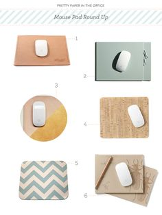 Mouse Pad Round Up